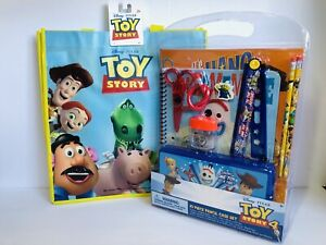 Disney Toy Story 4, Forky Note Book, Pencil Case, Folder, School Tote Bag Lot