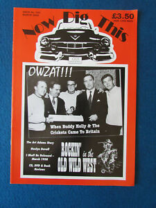 Now Dig This Magazine - Issue 300 - March 2008 - Rock n' Roll  Buddy Holly Cover