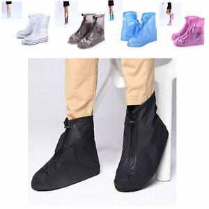 Waterproof Shoe Covers Rain Snow Boots Cover Reusable Unisex Non Slip Galoshes