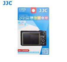 JJC Screen Guard Protector PET Film for CANON PowerShot SX720 HS SX710 SX610 HS
