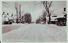 Canada Lacolle Quebec - Church Street North old unused postcard