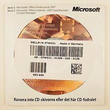 Office 2007 Professional Pro OEM mit CD Datenträger Vollversion Schwedisch