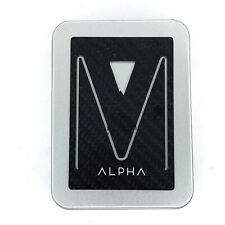 Alpha EDC Carbon Fiber Wallet For Men Slim Front Pocket Credit Card Holder
