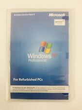 Windows XP Pro Sp3 Reinstall Disk for Refurbished Computers Only, No CD Key