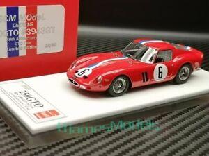 SCM 1/43 CM701G  FERRARI 250 GTO #3943GT 50th Anni. GTO Tour #6 Red N/makeup