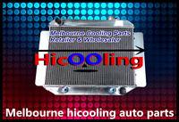 3 Row 56mm Aluminum Radiator Holden HD HG HQ HJ HK HT LH LX 161 186 202 AT MT