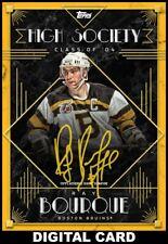 Topps SKATE Ray Bourque Signature HIGH SOCIETY 2020 [DIGITAL CARD] 25cc