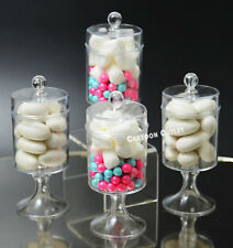 12 BIRTHDAY BABY SHOWER FILLABLE CANDY CONTAINERS FAVORS MINI BAPTISM COMMUNION