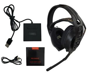 Plantronics RIG 800HD Wireless Gaming Headset USB Base for PC Computer & Mac OS
