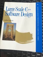 Addison-Wesley Professional Computing: Large-Scale C++ Software Design, J. Lakos