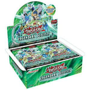 Yu-Gi-Oh! Legendary Duelists Synchro Storm Booster Case - Preorder Ships 10/29