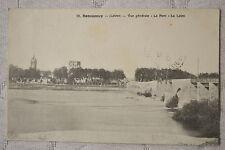 """CPA """" BEAUGENCY - Vue générale - Le Pont - La Loire"""