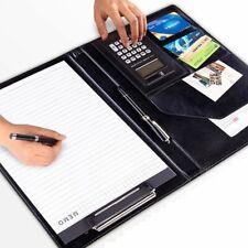 New Listingdocument Organizer Padfolio Portfolio Folder Business Faux Leather Storage Case