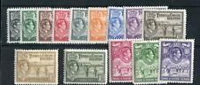 Turks & Caicos KGVI 1938-45 set of 14 SG194/205 MLH