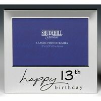 Happy 13th Birthday Photo Frame  Gift Boy Girls Table Decorations Memories
