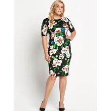 BNWT AX Paris Curve Floral Scuba Midi Evening Occasion Dress Size 20 NEW