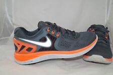 Nike Lunareclipse 4 Gr: 44 - 43,5 Neonorange Grau Running Laufschuhe