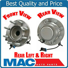 (2) Frt 1999-2000 Silverado 2500 Rear Wheel Drive 8 Year Warr Axle Hub Assembly