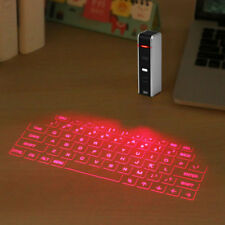 Wireless Mini Portable Laser Virtual Projection Keyboard Projector For Tablet PC