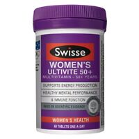 Swisse Women's Ultivite 50+ 60 tablets Multivitamin