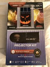 Total Home FX Animated Window Projector Kit Christmas Holiday Scenes
