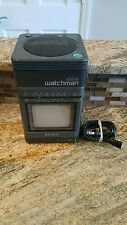 Vintage SONY Mega Watchman FD-500 Black and White TV FM/AM Receiver Portable