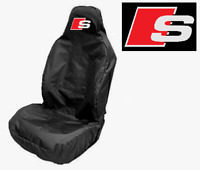 Audi Sline - Sport Car Seat Cover Protector x1 HEAVY DUTY + WATERPROOF / Audi A4