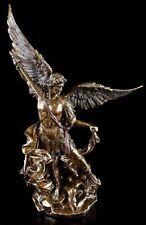 Erzengel Michael Figur - Statue Engel bronziert Veronese