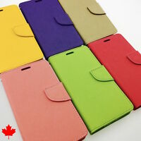 LG G3 D852 High Quality Leather Flip Wallet Cover Case Stand Credit Card Slots
