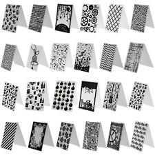 86 tipo Hazlo tú mismo Carpeta de grabación en relieve plástico Plantilla Troquelado Tarjeta de álbum de recortes