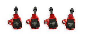 MSD Ignition Coil Blaster 15-19 Honda 1.5L & 16-20 2.0/2.0L Turbo Red4pack 82494