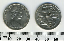 Australia 1975 - 20 Cents Copper-Nickel Coin - Platypus - Queen Elizabeth II -#1