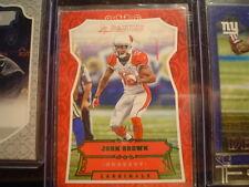 John Brown, Cardinals S#97/199 2016 Panini Green Football Card #10