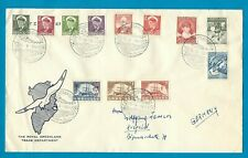 GREENLAND cover 1961 SDR Stromfjord to Germany