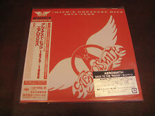 AEROSMITH Hits 1973-1988 JAPAN REPLICA TO ORIGINAL LP IN A SEALED OBI LIMITED CD