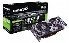 Inno3D NVIDIA GeForce GTX 970 OC 4GB DDR5 Overclocked Video graphics Card 4K DP