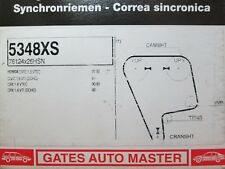 Honda Civic + CRX 1.6 VTEC 16 V GATES cambelt Timing Belt 5348XS