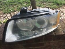 02-05 OEM Audi A4 LH Left Driver Side Xenon HeadLight Lamp Assembly 8E0941003AS