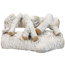 Moda Flame 5 Piece Ceramic Fireplace Gas Log Set
