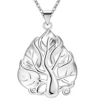 925 cute silver jewelry pretty Fashion women charms classic necklace jewelry