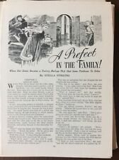 K1h Ephemera 1950s Short Story A Prefect In The Family Stella Stirling