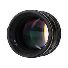 50mm F1.1 Prime APS-C Large Aperture Manual Focus Lens For M3/4  Mount Camera