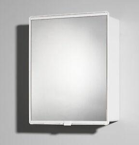 Jokey Spiegelschrank 1-Türig Junior Weiß Kosmetikschrank mit Spiegel