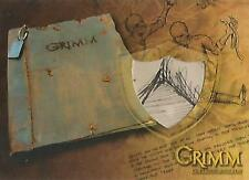 "Grimm - RARE GPR-13 ""The Book of Grimm, Geier Page"" Prop Card"