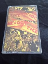 AC/DC T.N.T. CASSETTE TAPE AUSSIE FULL ARTWORK RARE AUSTRALIA ALBERT PRODUCTIONS