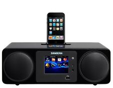 Sangean WFR-2D Radio Internet,FM & DAB+ etc List $699 Colour Display,Remote $260