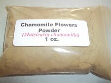 1 oz. Chamomile Flowers Powder (Matricaria chamomilla)