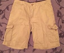 Quiksilver Khaki Cargo Pants ~ Size 38
