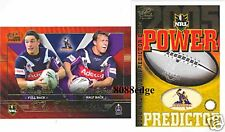 2005 SELECT NRL PLAYMAKERS #PM6: BILLY SLATER/MATT ORFORD - MELBOURNE STORM