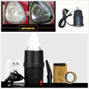 Car Headlight Lens Scratch Cracking Repair Refurbished Atomized Cup with Socket